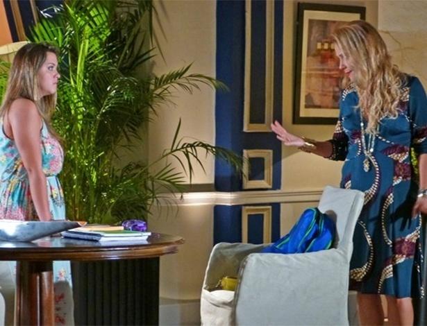 Bárbara fica furiosa com Shirley ao vê-la dar em cima do seu amigo
