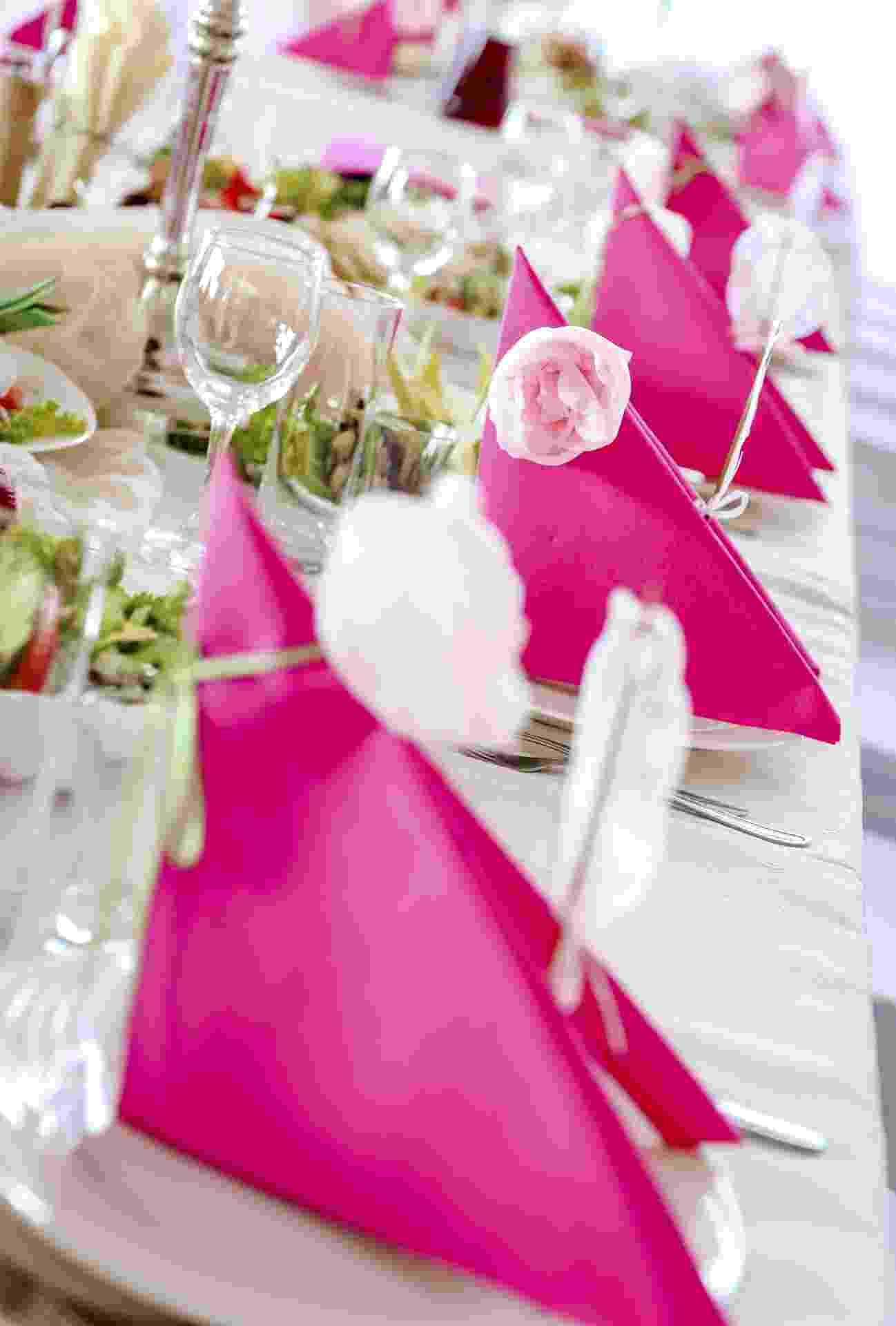 Invista na variedade de tons do rosa, a cor mais pedida para a ocasião - Thinkstock