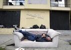 As pessoas que tentam o sucesso em Hollywood, mas acabam sem-teto - Hector Mata/AFP