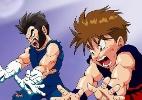 Pai cria animação em que filho luta contra vilões de 'Dragon Ball Z'