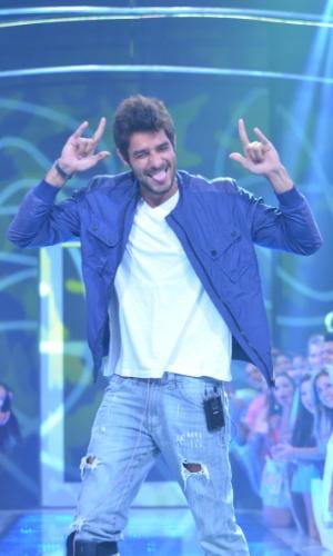 18.mar.2014 - O carioca Diego foi o 13º eliminado do