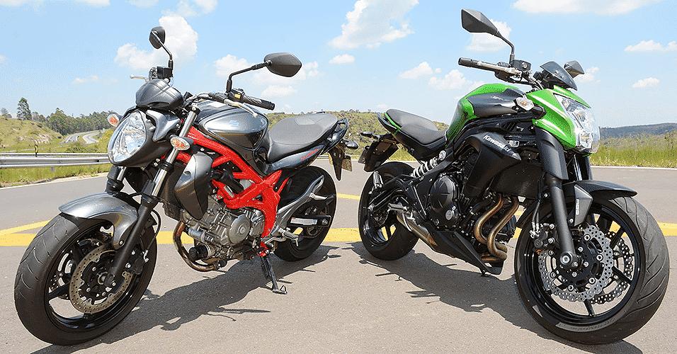 Kawasaki ER-6n e Suzuki Gladius 650 - Doni Castilho/Infomoto
