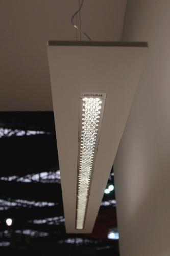 A Osram (www.osram.com.br) lançou apenas luzes com tecnologia LED na 20ª edição da Feicon Batimat (Salão Internacional da Construção), em cartaz de 18 a 22 de março de 2014, em São Paulo. Um dos destaques para uso residencial é o pendente Arktika, com design leve e promessa de luz homogênea