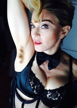 Madonna posta foto com a axila peluda no Instagram - Reprodução/ Instagram