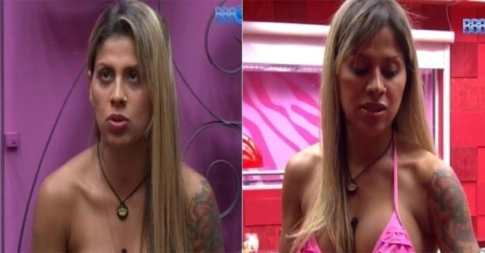 mar.2014 - Vanessa deixou os cabelos mais claros e cortou a franja com a ajuda da equipe de Marcos Proença