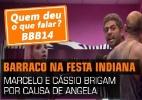 """Veja fotos do 68º dia de confinamento do """"BBB14"""" - Reprodução/TV Globo"""