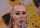 """No """"Domingão"""", Aline recebe críticas sobre sua postura em briga com Angela - Reprodução/TV Globo"""