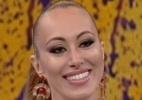 """Aline rebate """"alfinetada"""" de Carol Nakamura no """"Domingão do Faustão"""" - Reprodução/TV Globo"""