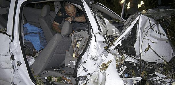 Acidente com Chevrolet Cobalt nos EUA - REUTERS/St Croix Sherriff - REUTERS/St Croix Sherriff