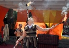 Espetáculo de circo e oficina de malabares acontecem no centro de SP