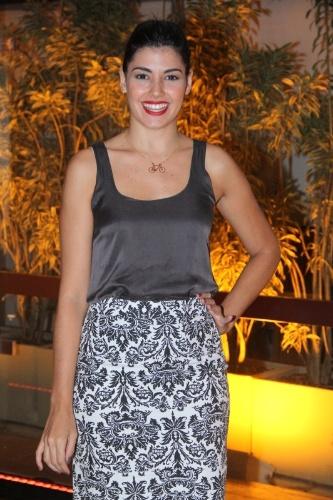 """24.mar.2014 - A atriz Veronica Debom apresenta o humorístico """"Tá no Ar: A TV na TV"""", que estreia em abril, na Globo"""