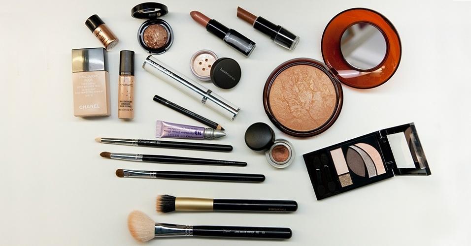 Tutorial: maquiagem cobre: materiais