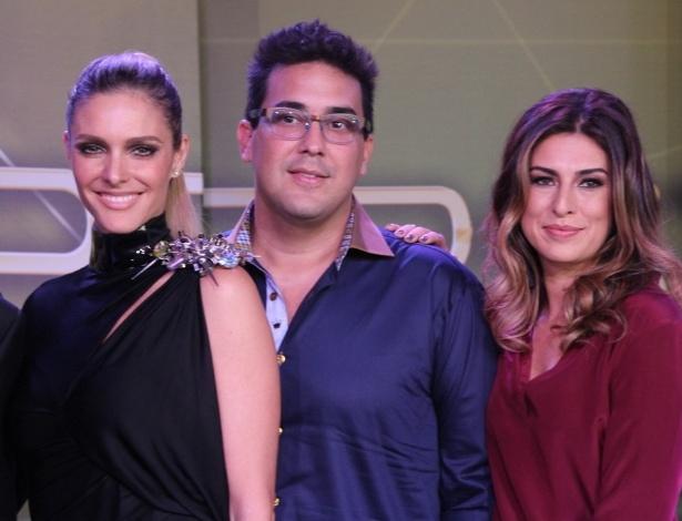 """26.mar.2014 - Fernanda Lima, André Marques e Fernanda Paes Leme comandam o """"SuperStar"""""""