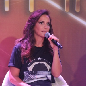 "Ivete Sangalo na coletiva do ""SuperStar"""