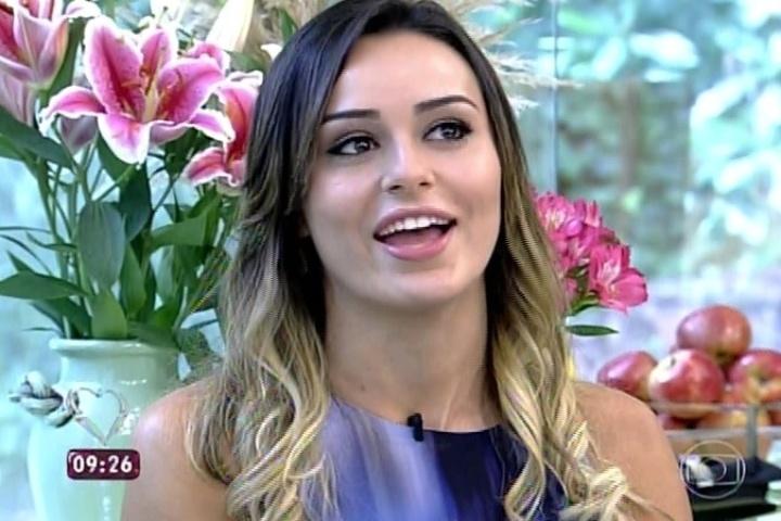 26.mar.2014 - Participantes eliminados toma café com Ana Maria Braga no estúdio do