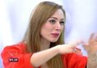Aline alfineta Letícia ao vivo e Ana Maria Braga confunde as sisters - Reprodução/TV Globo