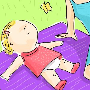 álbum sobre cuidados com o recém-nascido - Jeff Camargo/Arte UOL