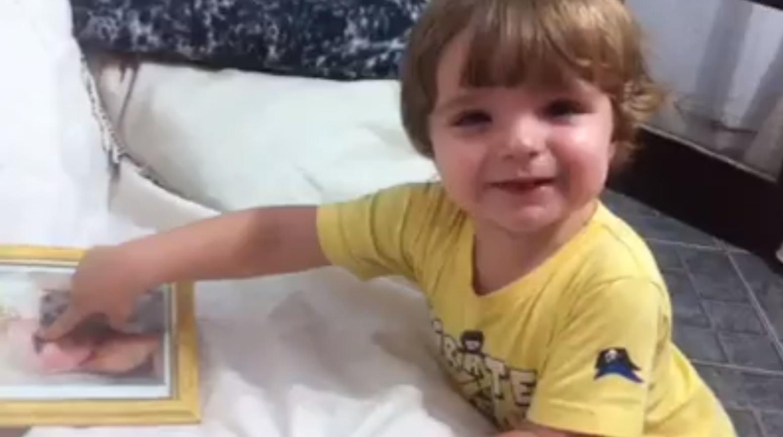 Mãe de Clara posta vídeo com filho da sister, o pequeno Max
