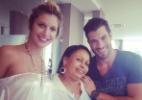 Roni publica foto ao lado de Tatiele e tia Zezinha - Reprodução/ Instagram/ mazonroni