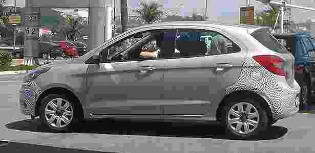 Ford Ka flagra - Vicente Ignacio Neto/UOL - Vicente Ignacio Neto/UOL