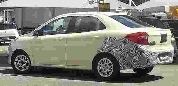 Ford Ka sedã traseira flagra - Vicente Ignacio Neto/UOL - Vicente Ignacio Neto/UOL