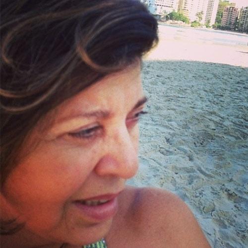 """Nesta foto, Roberta Miranda homenageou um fã que morreu: """"Te oferto o meu amor, Guilherme Freitas"""""""