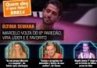 """Veja fotos da 17ª eliminação do """"BBB14"""" - Reprodução/TV Globo"""