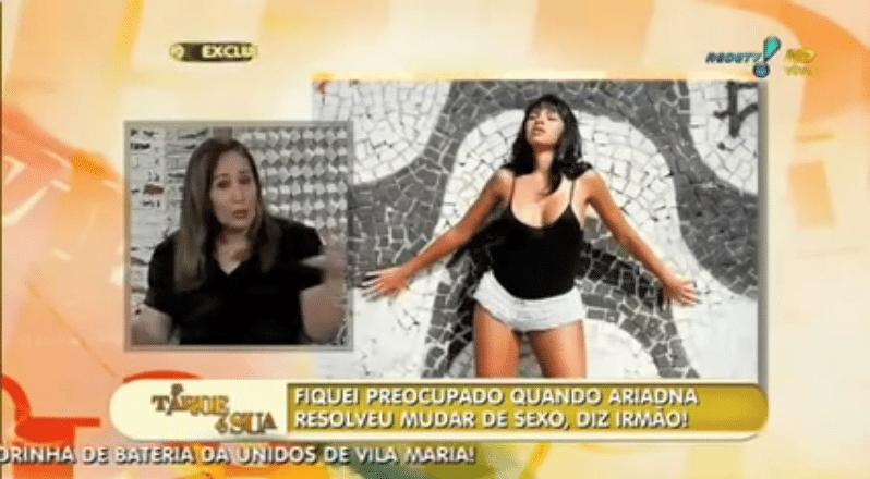 """""""Ser pauta do programa de Sônia Abrão"""" - Todo mundo fica ligado na TV quando Sônia Abrão faz um suspense para fazer uma grande revelação. A apresentadora já falou sobre vários casos nestes 13 anos de """"Big Brother Brasil"""", inclusive que o irmão de Ariadna Arantes ficou preocupado quando ela quis mudar de sexo. Você é do tipo """"falem mal ou falem bem, mas falem de mim""""? Então você é o tipo exato para ser ex-BBB"""