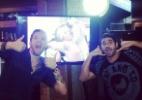 Cássio e Diego comemoram eliminação de Marcelo - Reproduçãp/ Instagram/ cassiolannes