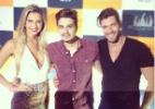Ex-BBBs Roni e Tatiele vão ao show do cantor Luan Santana - Reprodução/Instagram/mazonroni