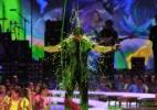 Artistas levam banho de gosma verde no prêmio Kids' Choice Awards de 2014