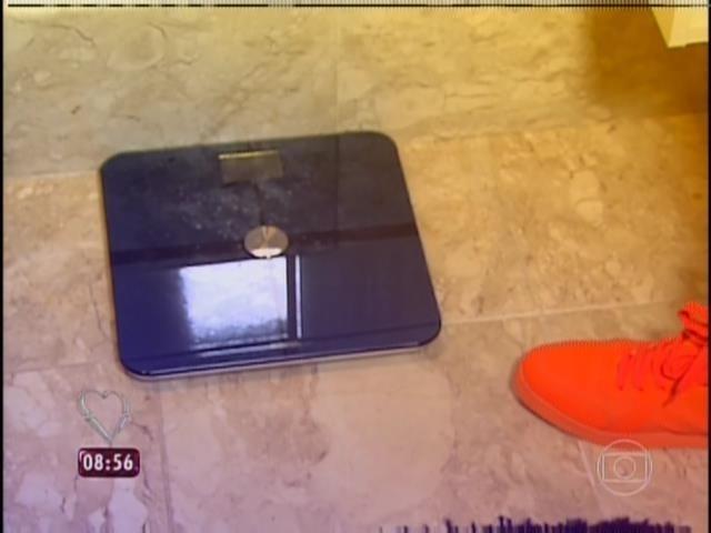 31.mar.2014 - André Marques já emagreceu 57 quilos após a gastroplastia. O apresentador contou que só irá se pesar novamente quando completar seis meses de cirurgia