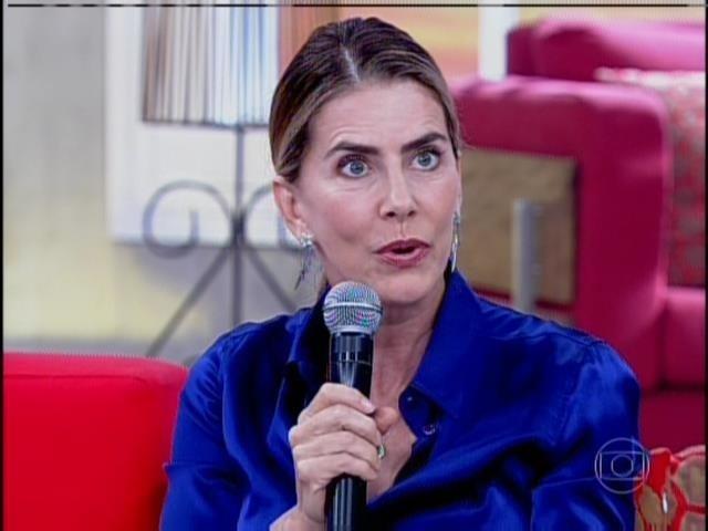 31.mar.2014 - Maitê Proença foi uma das convidadas do