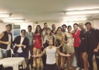 """No Projac, os ex-participantes do """"BBB14"""" aguardam a grande final dessa edição - Reprodução/ Instagram/ bella_maia_"""