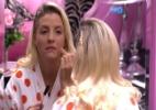 """""""Dona Clara, a senhora é loura, mas não é Poly"""", ironiza """"voz"""" do """"BBB"""" - Reprodução/TV Globo"""