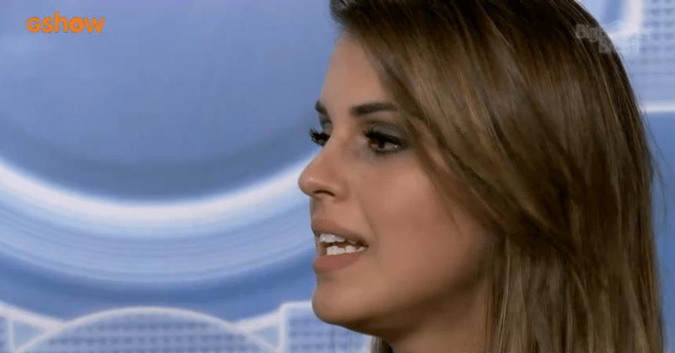 02.abr.2014 - Angela diz que não há mais nenhuma possibilidade de ficar com Marcelo.