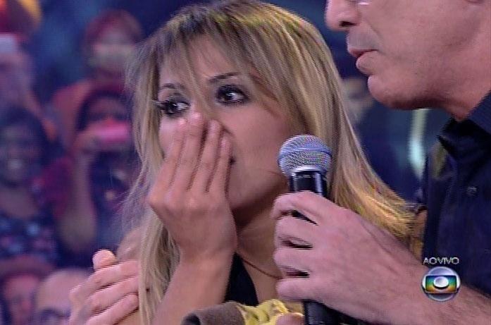 1.abr,2014 - E com 53% dos votos, Vanessa a ganhadora do