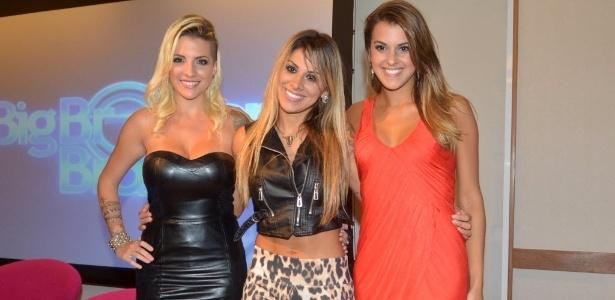 """Clara, Vanessa e Ângela foram finalistas do """"BBB14"""""""