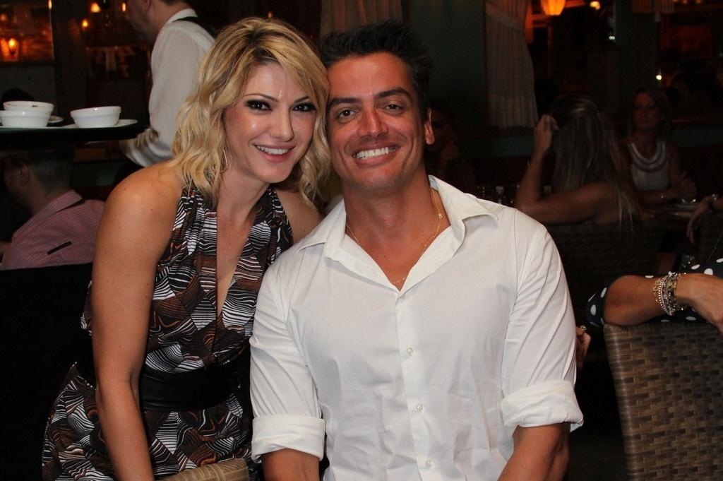 1.abr.2014 - Leo Dias no lançamento do programa