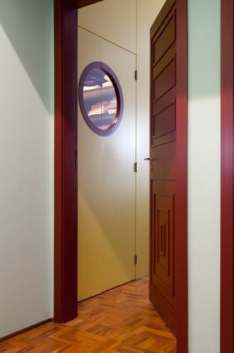 A porta vermelha e