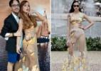 """""""Deu um tiro no pé"""", critica estilista que criou look de Aline - Instagram Alinedahlen/Divulgação"""