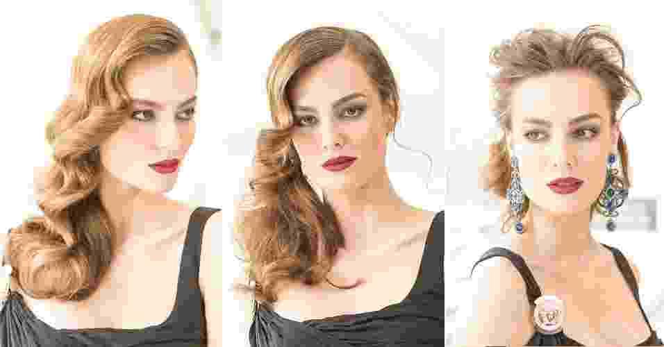 Passo a passo penteados de red carpet para convidadas - Rodrigo Capote/UOL