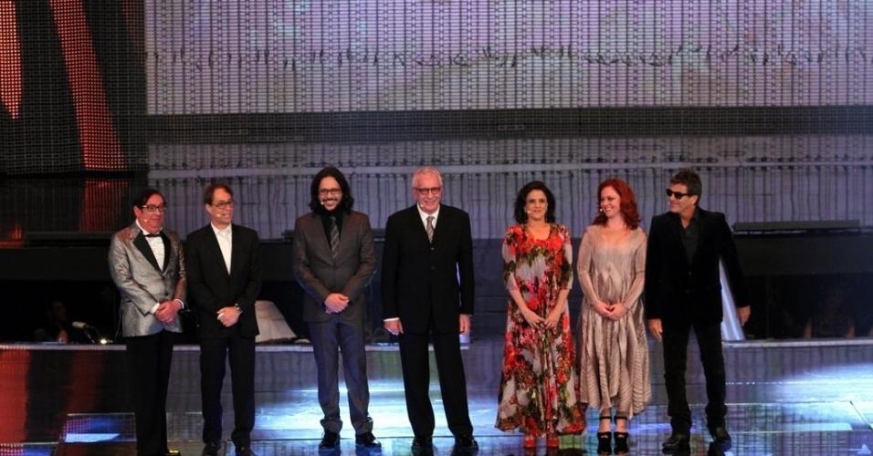 """2.abr.2014 - Elenco de """"A Grande Família"""" na gravação do """"vem_aí"""""""