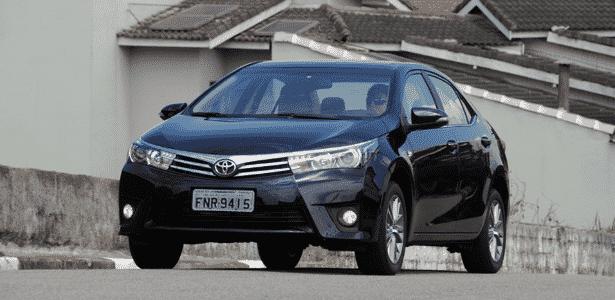 Toyota Corolla Altis 2015 - dianteira - Murilo Góes/UOL - Murilo Góes/UOL