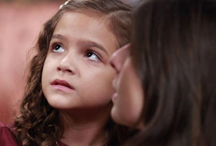 """A atriz Mel Maia nos bastidores de """"Joia Rara"""", da Globo, que termina na sexta-feira, 4 de abril"""
