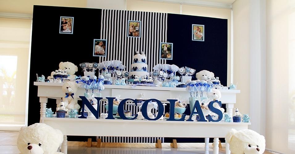 chá de bebê decorado com ursos pela Scrap Encanto (www.scrapencanto.com.br)
