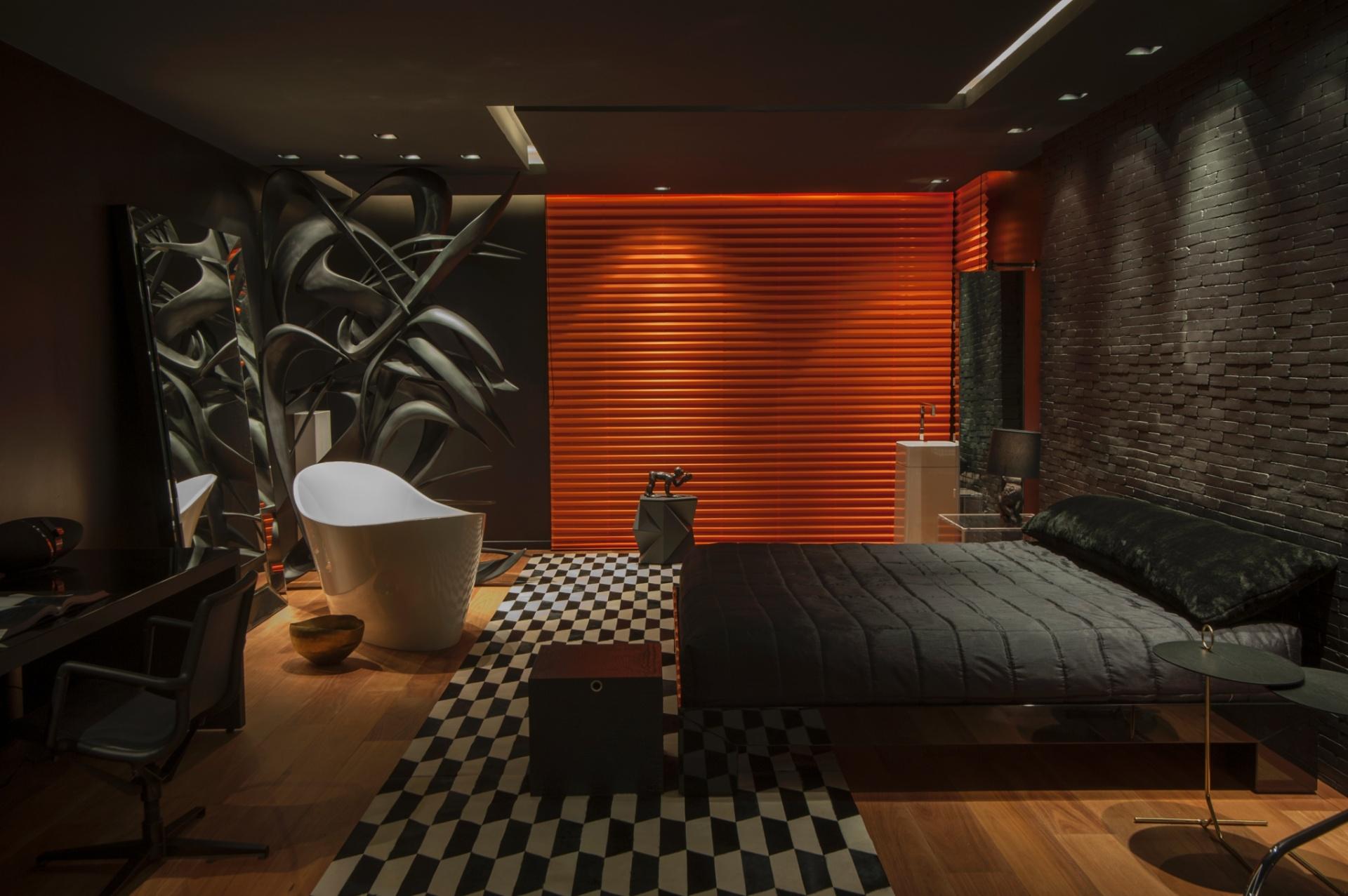 Projetado pelo arquiteto Rodrigo Fagá, o Loft do Publicitário é uma