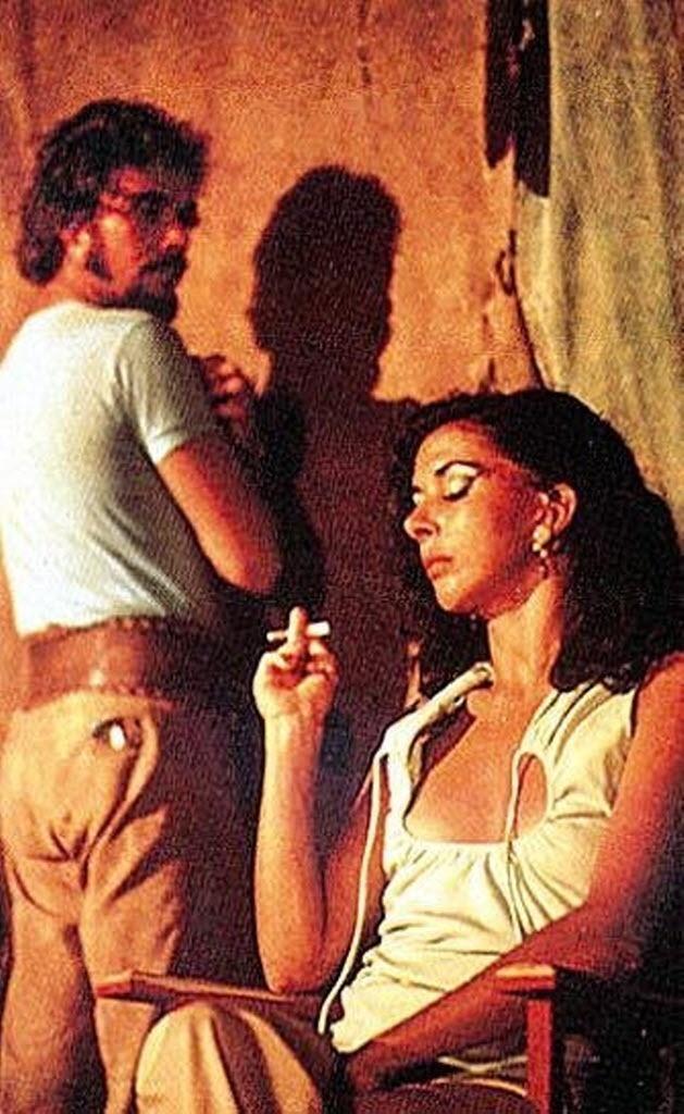 1979- Os atores José Wilker e Betty Faria em