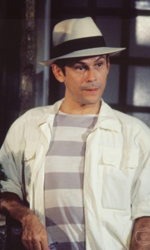 1985 - José Wiker era Roque Santeiro na novela de Dias Gomes