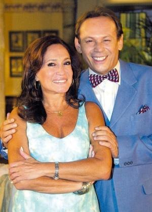 """Susana Vieira e José Wilker em """"Senhora do Destino"""" (2004) - Divulgação"""
